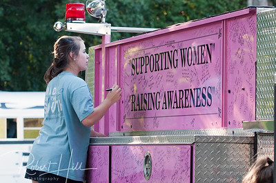 2013 East Chapel Hill Pink Fire Truck