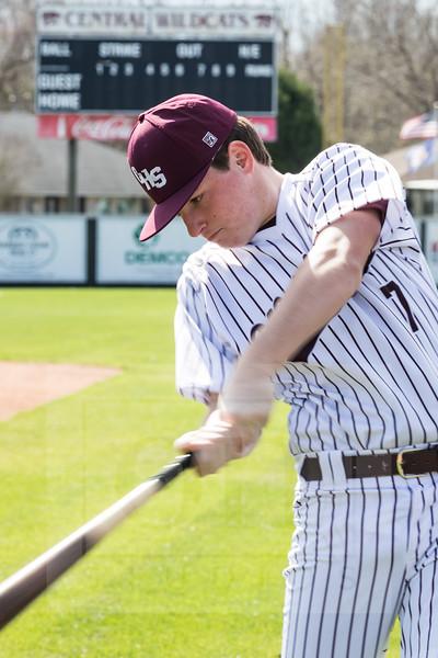 2021 Central High Baseball Seniors