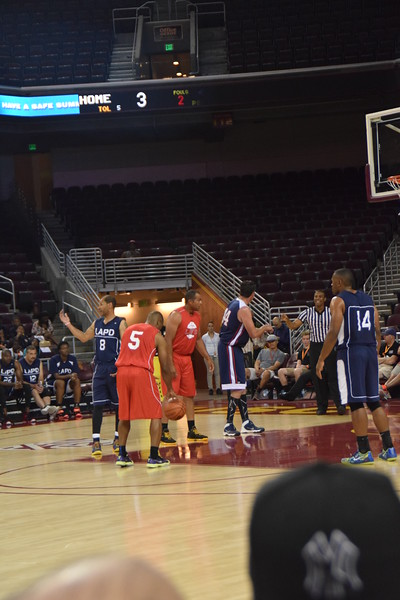 SUMMER TIP OFF WITH LAFD AND LAPD 5-2-15