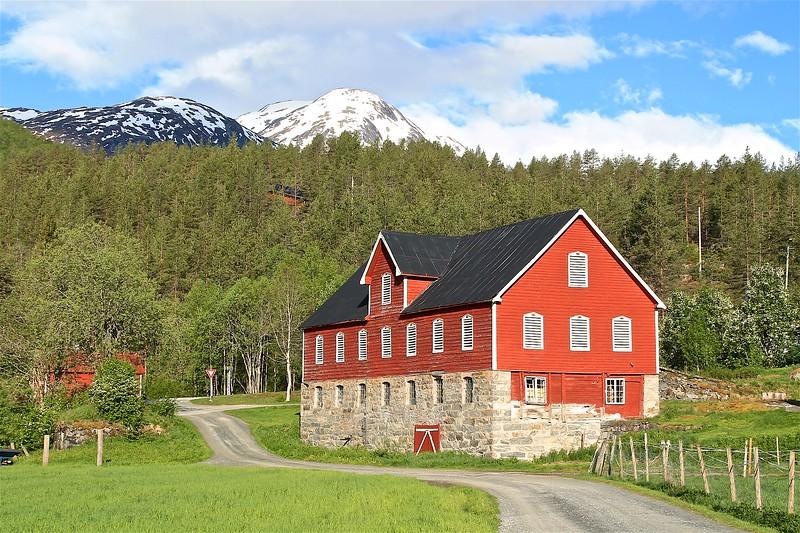 An old barn Gjerde Norway