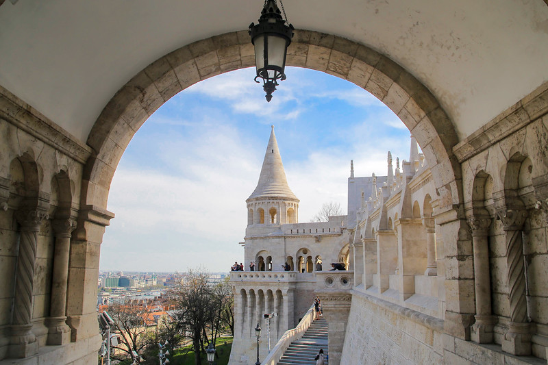 Fishermens Bastion arch