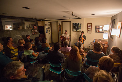 Christian Sedelmyer and Eli West at Manning Music Studio,October 7,2015