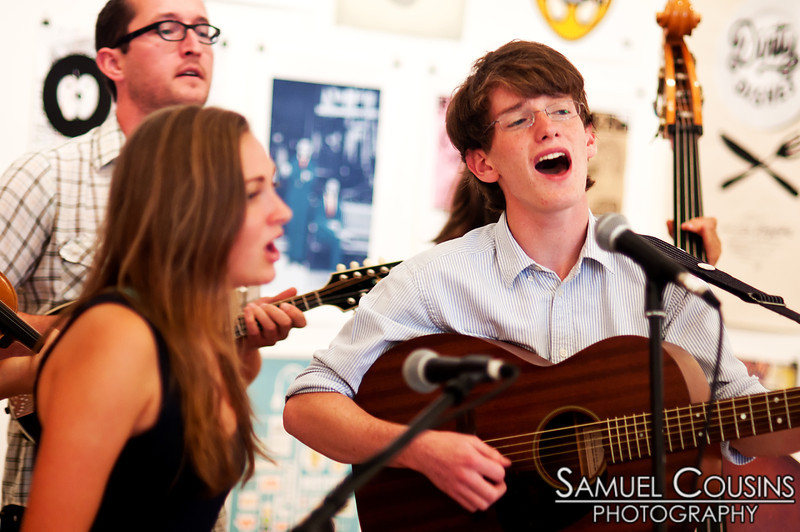 The 317 Pickers.  The Kids are Alright series was held at Space Gallery, in partnership with the Portland Music Foundation and the Maine Academy of Modern Music (MAMM).