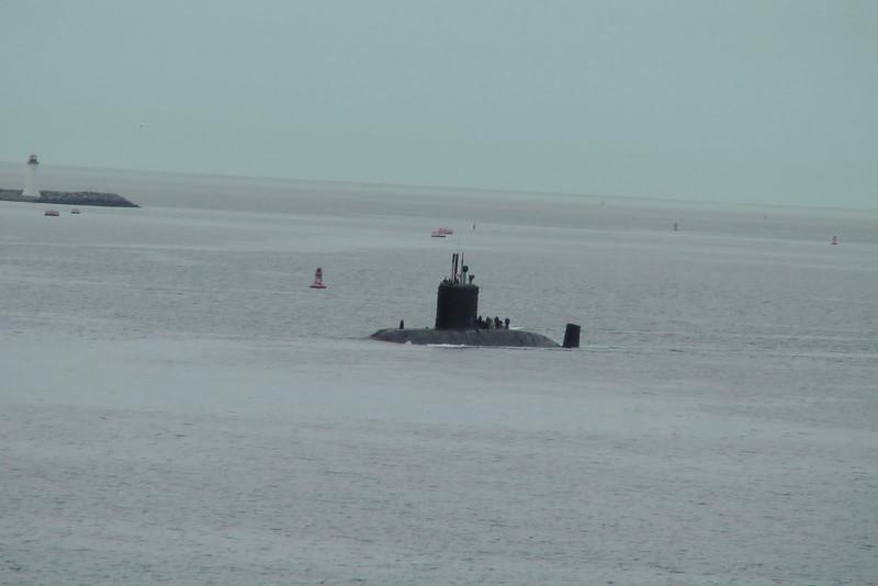 Submarine patrolling - Halifax, Nova Scotia