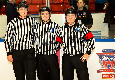 Officials of the Macs Tournament
