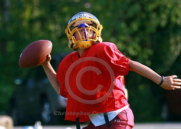 PeeWee Football Practice 2008