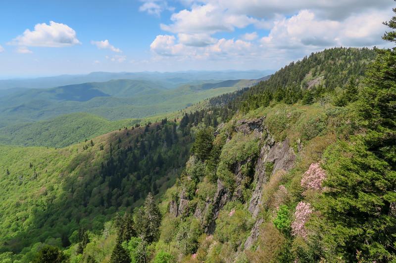 Silvermine Bald Cliffs -- 5,920'