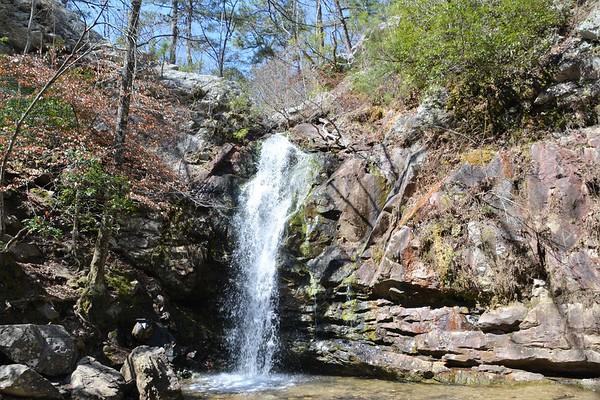 Oak Mountain Hike to Peavine Falls photo shoot...
