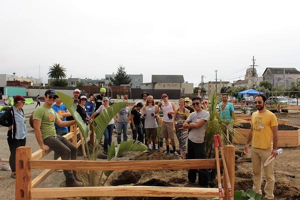 3.19.2016 San Francisco Build A Park Work Day