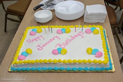 Wallace Hardware January Birthdays 2019