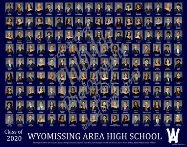Wyomissing Class of 2020 Class photos