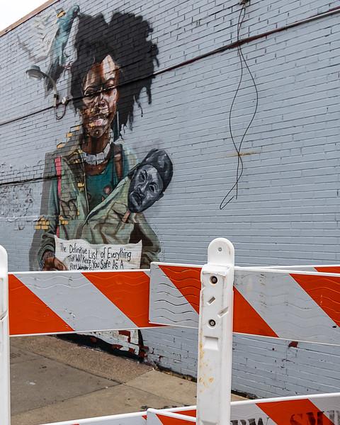 Barricaded Mural