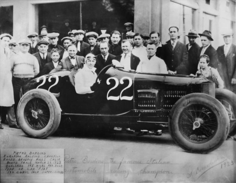 1923, Pietro Bordino