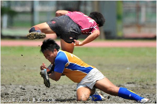 2012大專盃15s-甲組-台灣體院vs台北體院(NTCPE vs TPEC)