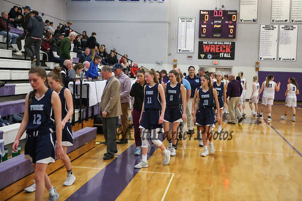 2019-1-12 Marshwood Boys and Girls Basketball vs York HS