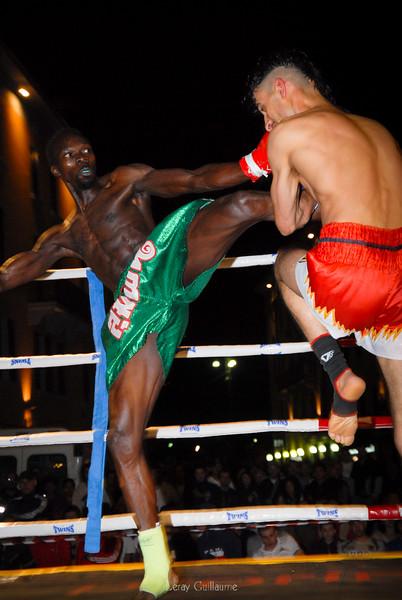 Thai boxing a Poretta Terme