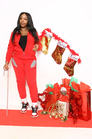 Kyisha's Christmas Portrait