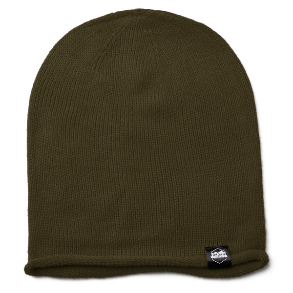 Outdoor Apparel - Organ Mountain Outfitters - Hat - Oversized Knit Beanie - Olive.jpg