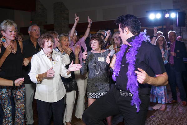 Elvis is in D'House at WCCC