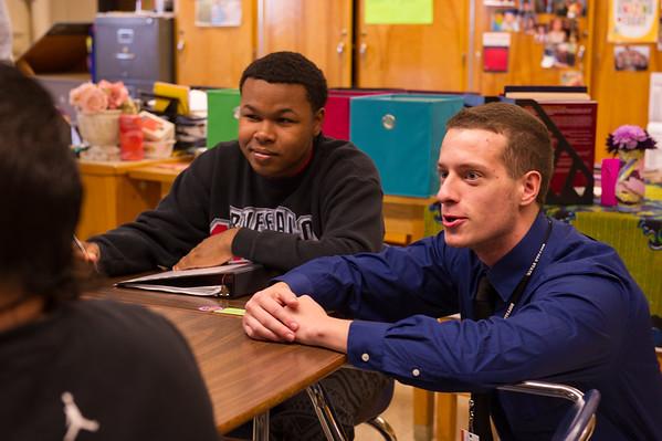 10/14/14 English Education Student Teachers at Lafayette High School