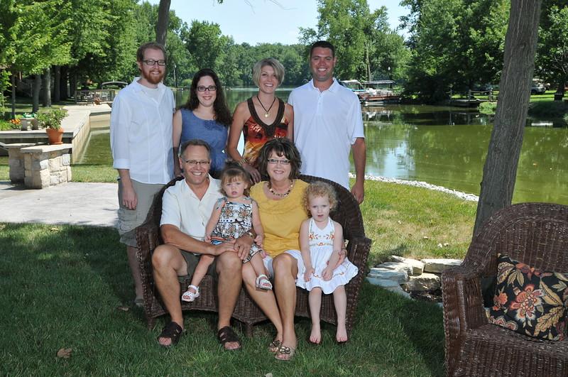 Schmeising Family 07-31-2011