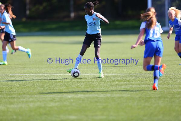 Girls Under 12 Seattle United v Crossfire