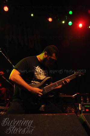 All Shall Perish @ Guelph Concert Theatre (Guelph, ON); 2/27/13