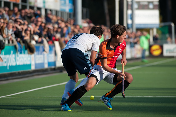 2016-10-30: HC Tilburg H1 - Oranje Rood H1