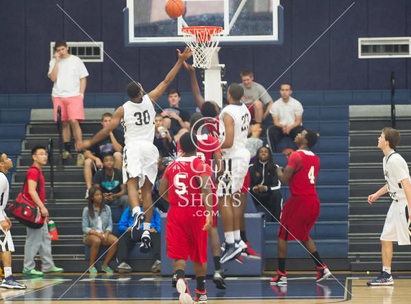 2012-11-21 Basketball Varsity Cleveland @ Second Baptist