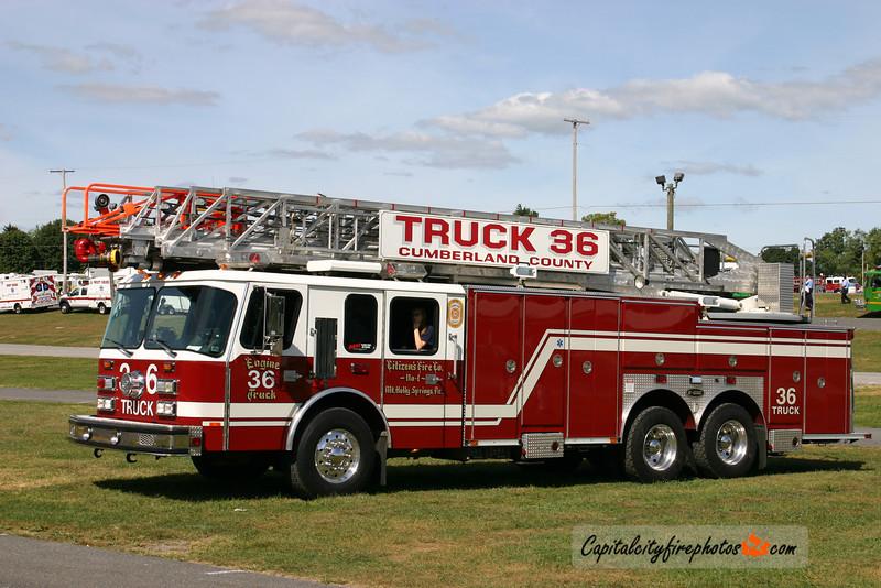 Mt. Holly Springs Truck 36: 1996 E-One Hurricane 100'