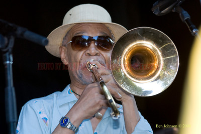 Trombonist Benny Powell - A Photo Tribute