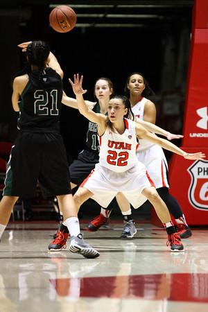 U of U Women's Basketball vs Utah Valley • 12-11-2013