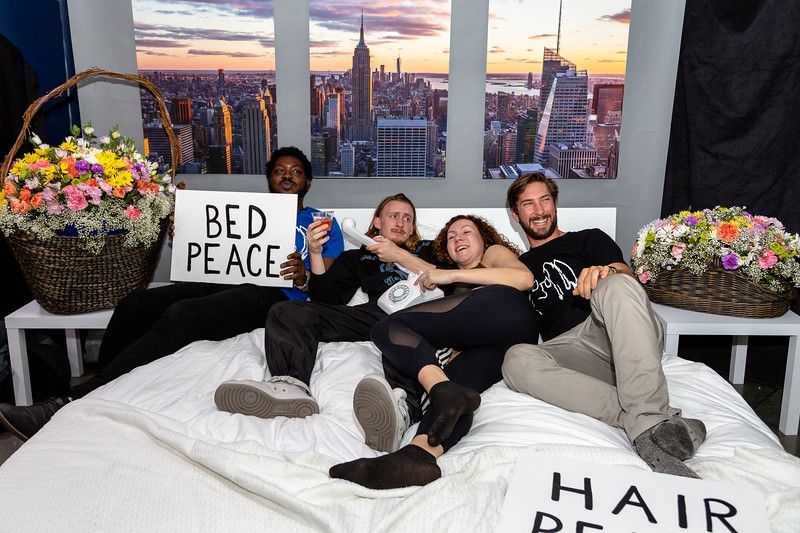 2018_10_17, Adorama, Bed, Bed In, Blac Rabbit, New York, NY, Photo Booth, Steven Meloney