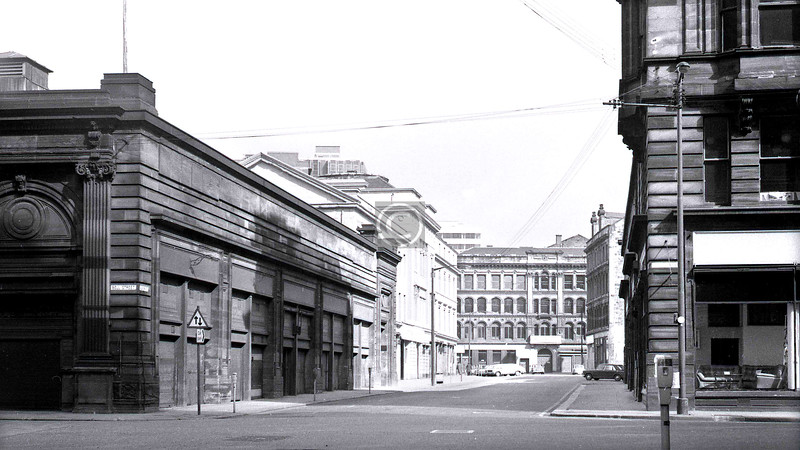 Albion St from Bell St.  