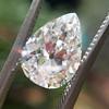 2.01ct Antique Pear Shape Diamond GIA G VS1 27