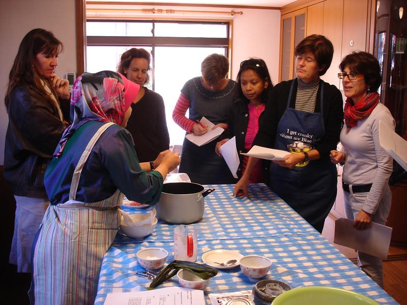 Malaysia Cooking Class November 18, 2010