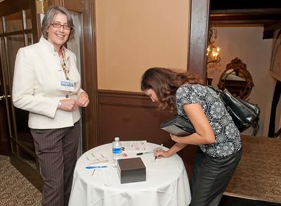 Charlotte Business Professional @ The DunHill w/Jeanne Frazer of Vitalink 9-13-10 Jon Strayhorn