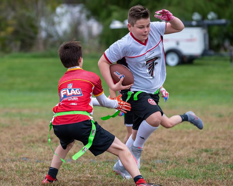 October 11, 2020 - Penn Athletics NFL Football game, Falcons vs. Chiefs (Credit Image: Carl Gulbish)