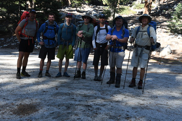 Mt. Whitney Mountaineers Route Sept 13-15, 2017