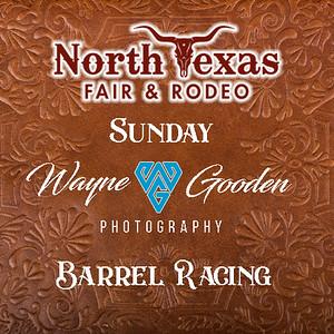 Sunday Night Barrel Racing