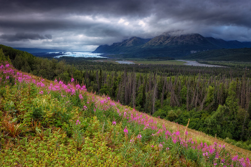Matanuska Glacier, Alaska, USA.
