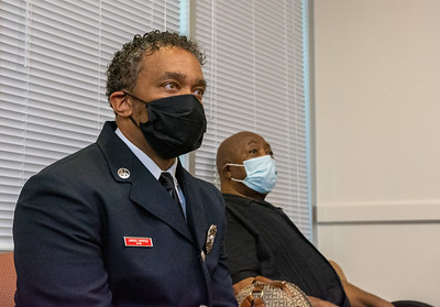 RFD Promotes First Black Man to Rank of Battalion Chief