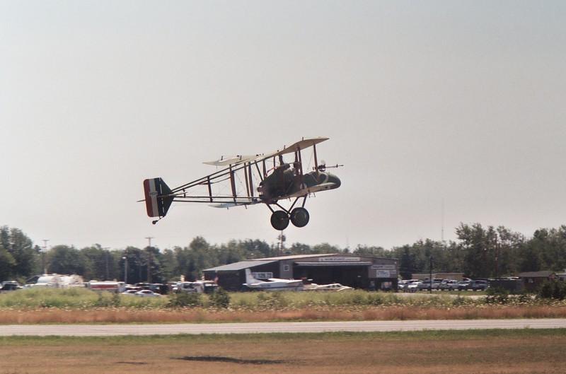 F.E.2 lifts off