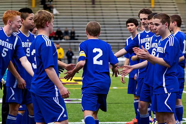 BHS Soccer v Issaquah 4.9.13