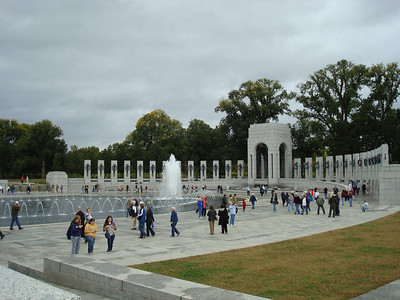 WWII Memorial and Nat'l Art Gallery East Building