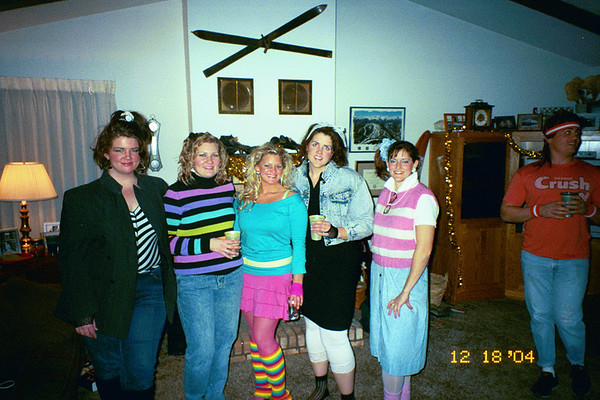 2004 80s Christmas Party