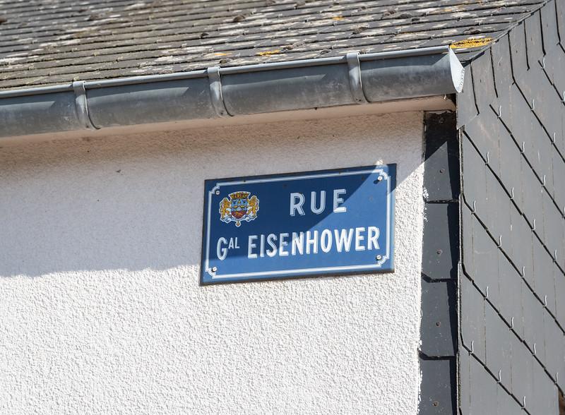 It really is Eisenhower Street
