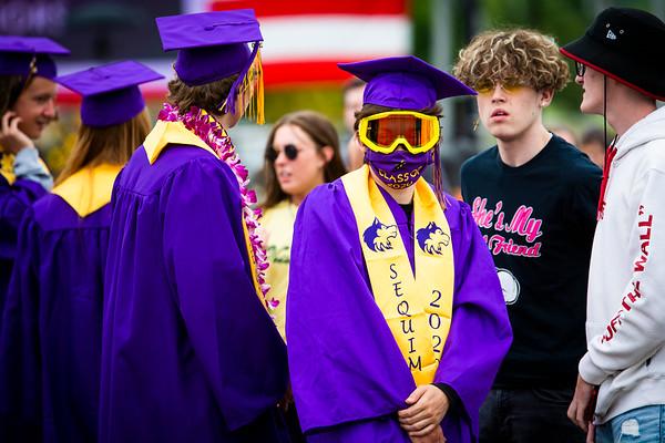 Sequim High School Drive-in Graduation 2020
