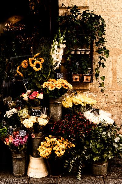 Flower shop on Île Saint-Louis