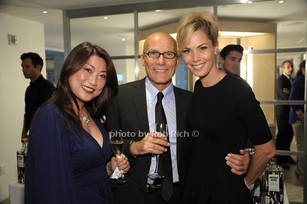 Meiko Morishige,  Alessandro DiPalma, Suelyn Farel photo by Rob Rich/SocietyAllure.com © 2014 robwayne1@aol.com 516-676-3939